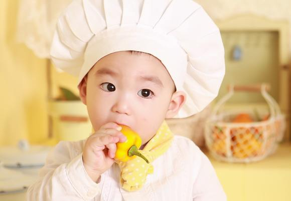 Adorable baby baker 35666